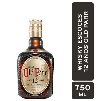Whisky Escoces 12 Años Old Parr Botella 750 Ml