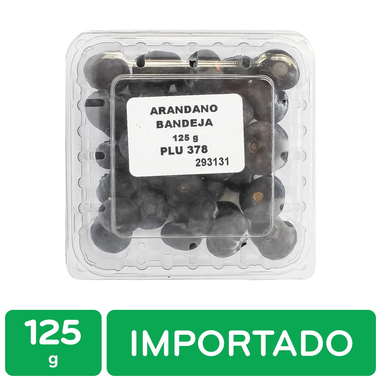 Arandano Importado Auto Mercado Bandeja 125 G