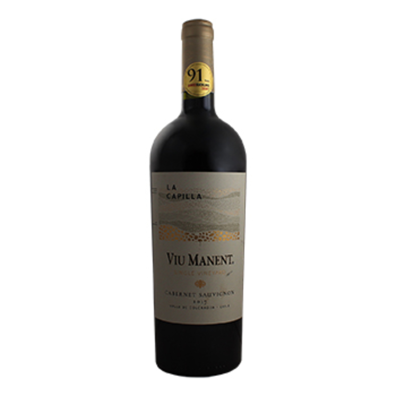 Vino Tinto Chile Cabernet Sauvignon Viu Manent Botella 750 Ml