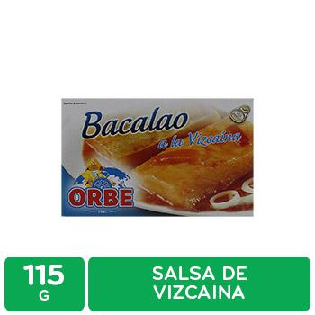 Bacalao Salsa A La Vizcaina Orbe Caja 115 G