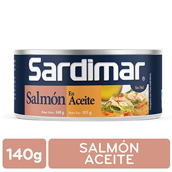 Salmon Aceite Sardimar Lata 140 G