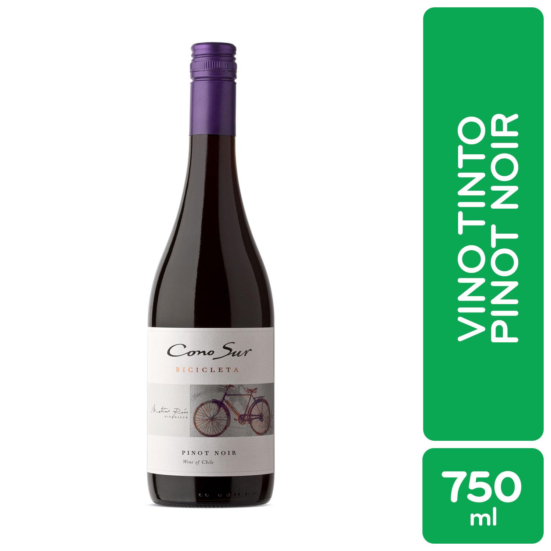 Vino Tinto Chile Pinot Noir Bicicleta Botella 750 Ml