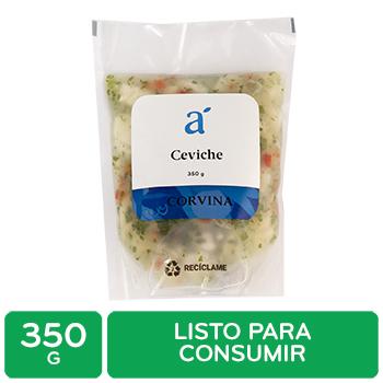 Ceviche Corvina Bolsa 350 G Auto Mercado