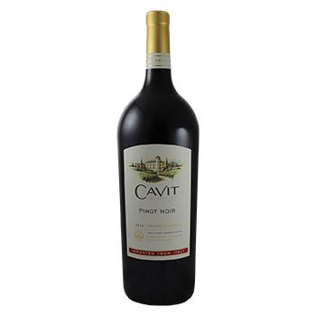 Vino Tinto Italia Pinot Noir Cavit Botella 1500 Ml