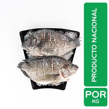 Pescado Tilapia Entero Aquicola Kilo Auto Mercado