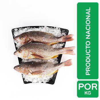 Pescado Pargo Entero Aquicola Kilo Auto Mercado