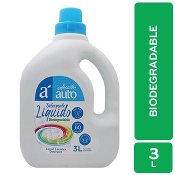 Detergente Liquido Original Bio Seleccion Auto Envase 3000 Ml