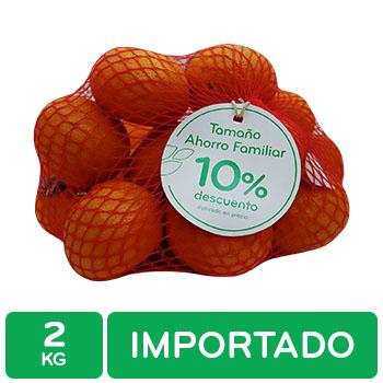 Mandarina Importada Auto Mercado Paquete 2 Kg