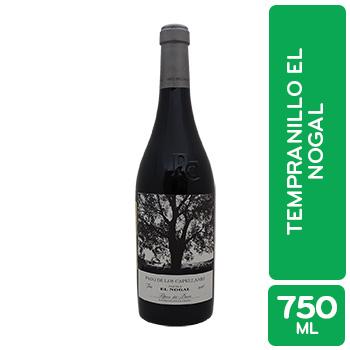 Vino Tinto España Tempranillo Pago De Los Capellan Botella 750 Ml
