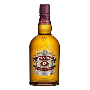 Whisky Escoces 12 Años Chivas Regal Botella 750 Ml